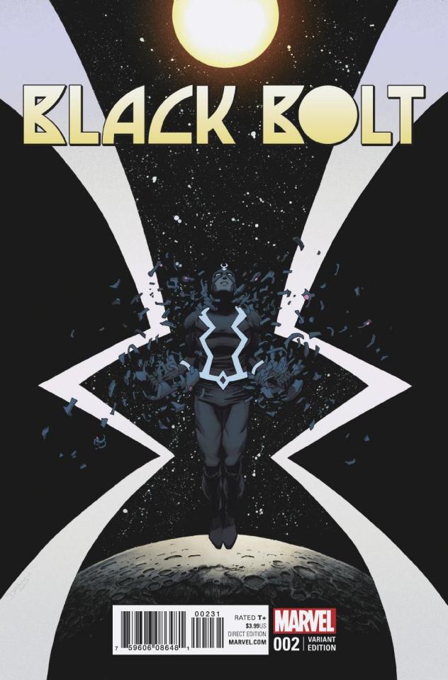 Black Bolt #2 (Shalvey Bellaire Cover)