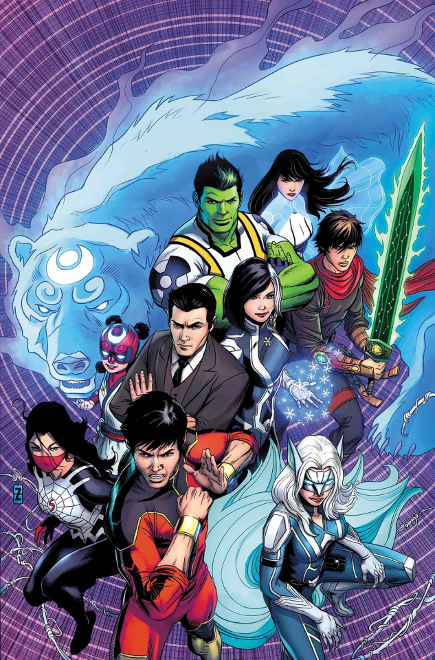 The War of the Realms: New Agents of Atlas #1 (Zircher Cover)