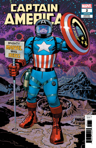 Captain America #2 (Kirby Remastered Cover)