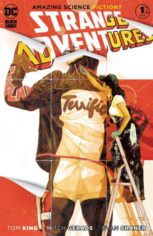 Strange Adventures #12 (Mitch Gerads Cover)