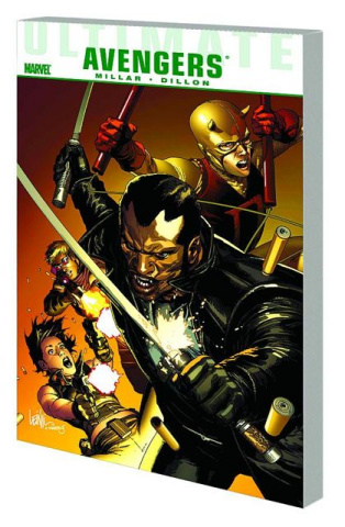 Ultimate Comics Avengers: Blade vs. Avengers