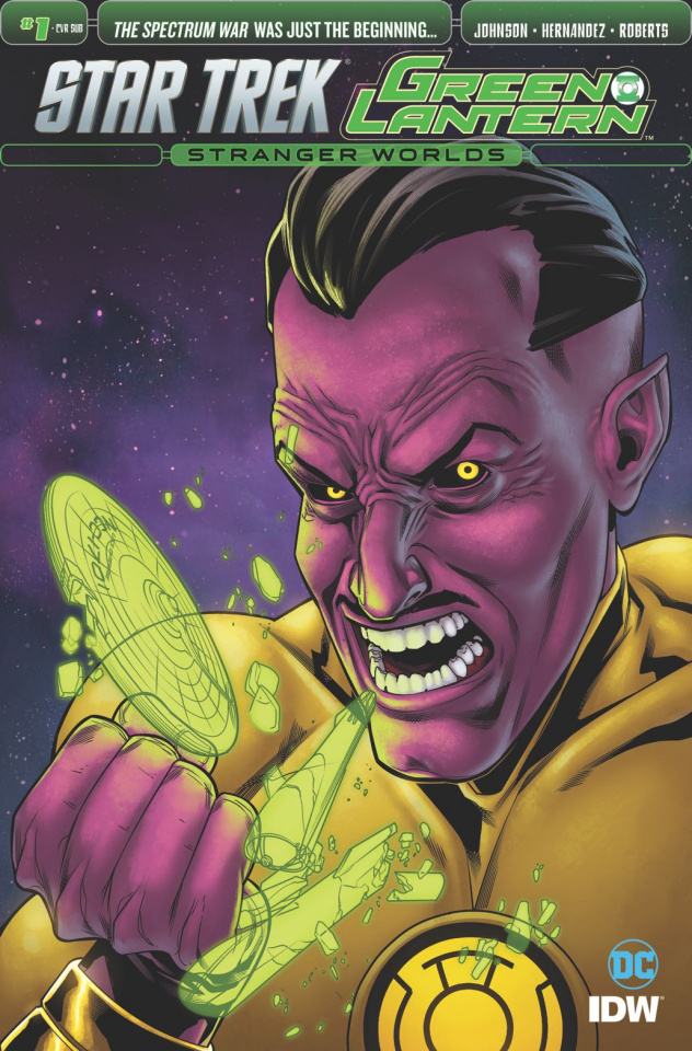 Star Trek / Green Lantern #1 (Subscription Cover)
