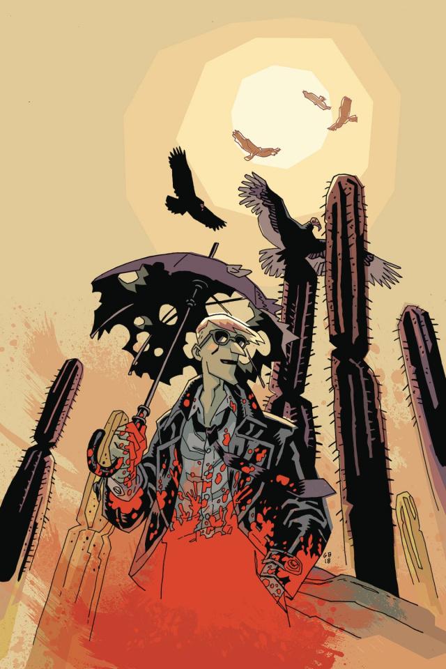 The Umbrella Academy: Hotel Oblivion #3 (Ba Cover)