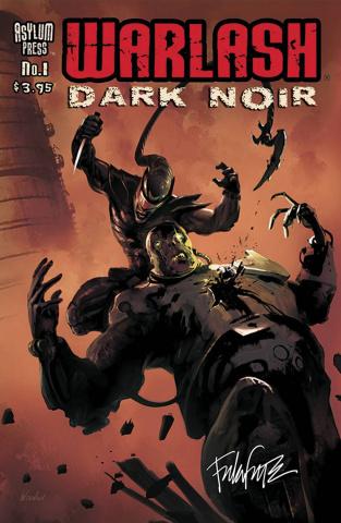 Warlash: Dark Noir #1 (Signed Edition)