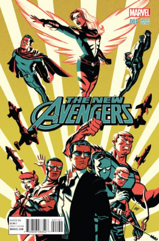 New Avengers #1 (Cho Cover)