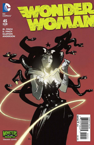 Wonder Woman #45 (Monsters Cover)
