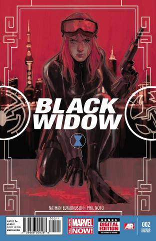 Black Widow #2 (2nd Printing)