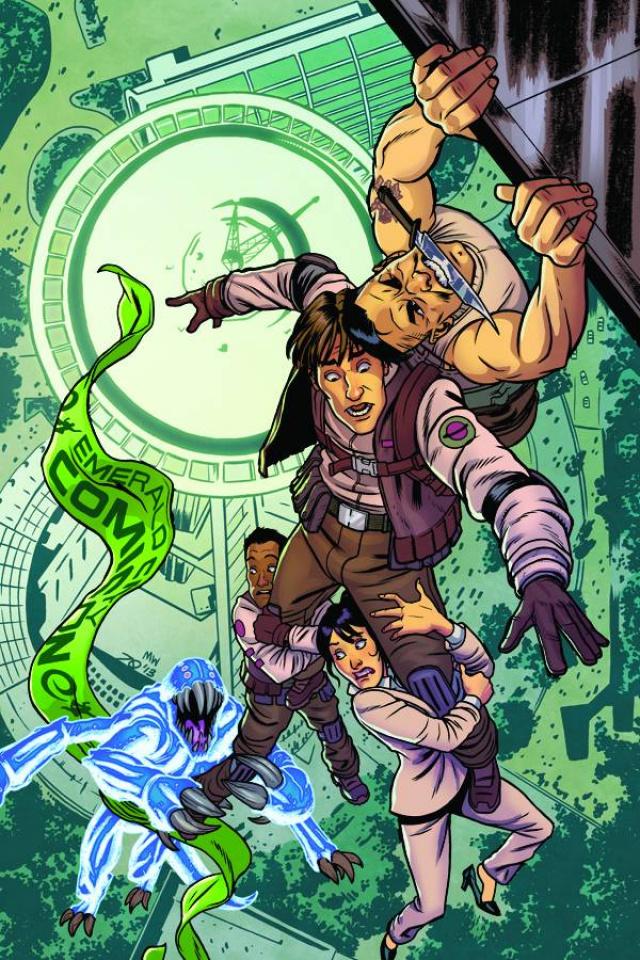 Aliens vs. Parker #1 (Emerald City Comic Con Cover)