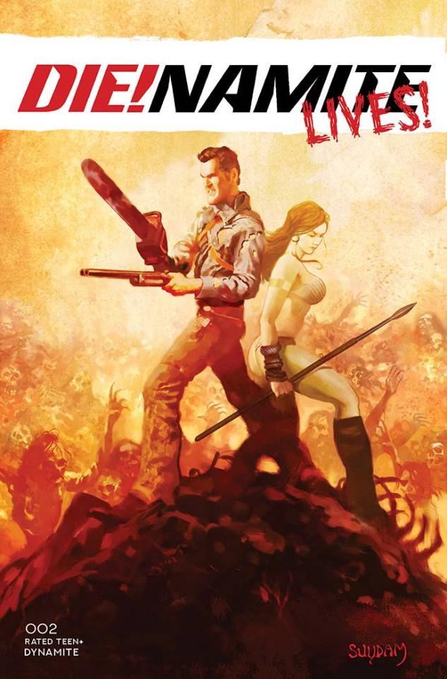 DIE!namite Lives! #2 (25 Copy Suydam Non-Zombie Cover)