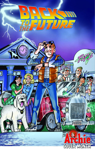 Back to the Future #3 (Archie 75th Anniversary Cover)