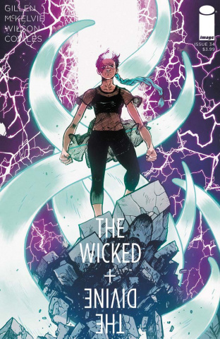 The Wicked + The Divine #34 (Johnson & Spicer Cover)