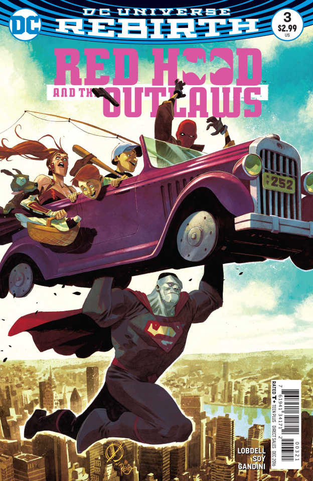 Red Hood and The Outlaws #3 (Variant Cover)