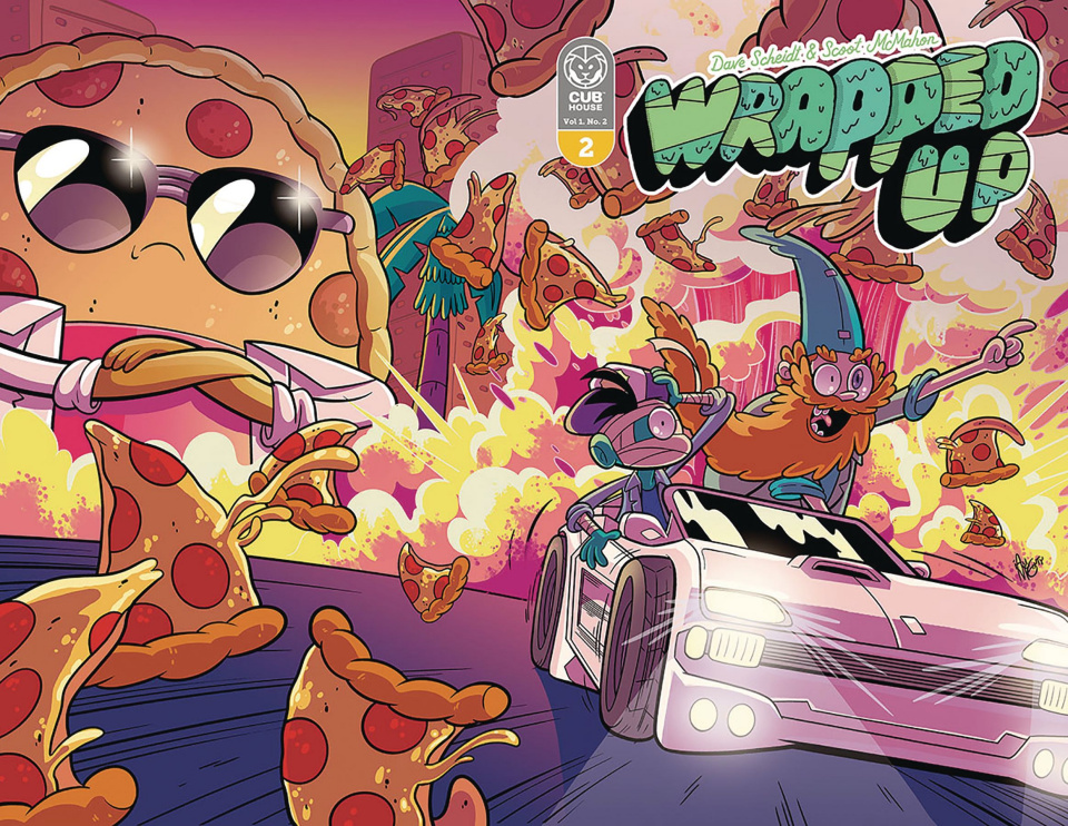 Wrapped Up #2 (McGinty Wraparound Cover)
