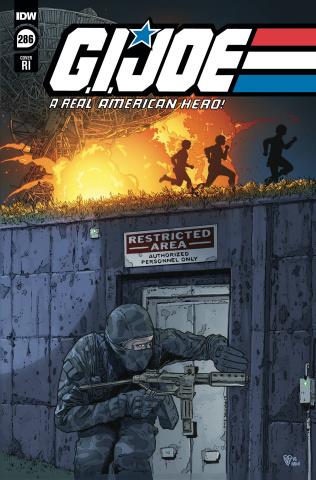 G.I. Joe: A Real American Hero #286 (10 Copy Royle Cover)