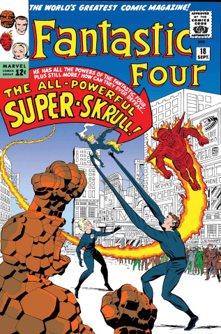 Fantastic Four: The Super Skrull #1 (True Believers)
