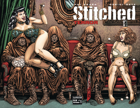 Stitched: Terror #1 (Wrap Cover)