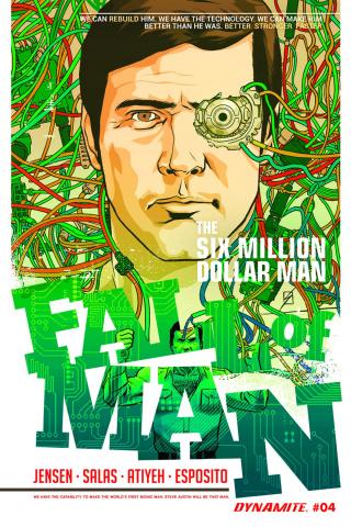 The Six Million Dollar Man: Fall of Man #4