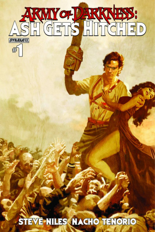 Army of Darkness: Ash Gets Hitched #1 (Suydam Cover)
