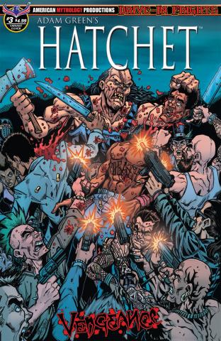 Hatchet: Vengeance #3 (Slaughter Calzada Cover)