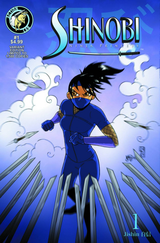 Shinobi, Ninja Princess #1 (Bowling Cover)