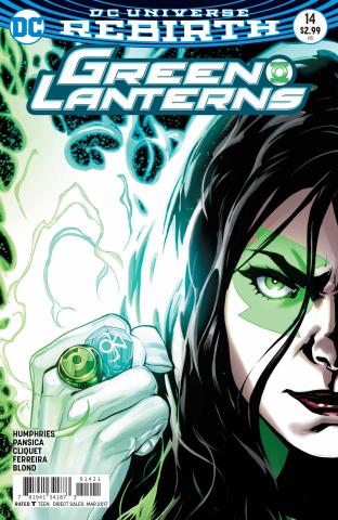 Green Lanterns #14 (Variant Cover)