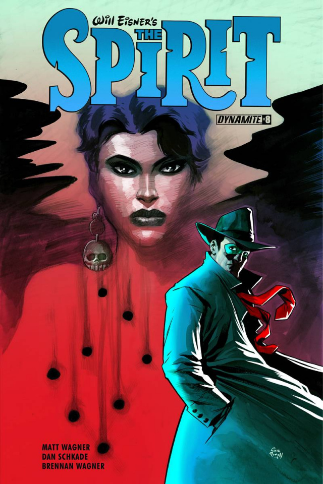 The Spirit #8 (Powell Cover)