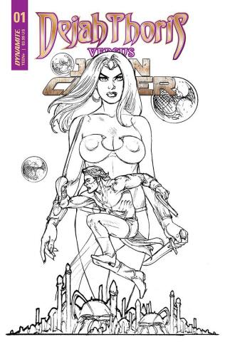Dejah Thoris vs. John Carter of Mars #1 (20 Copy Cover)
