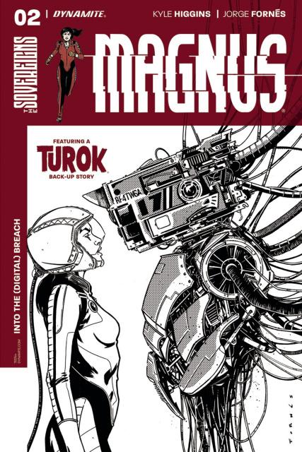 Magnus #2 (20 Copy Fornes B&W Cover)