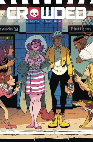Crowded #7 (Stein, Brandt & Farrell Cover)