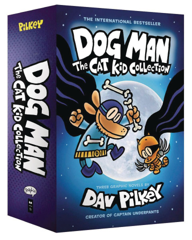 Dog Man Boxed Set #2 (Epic Collection)