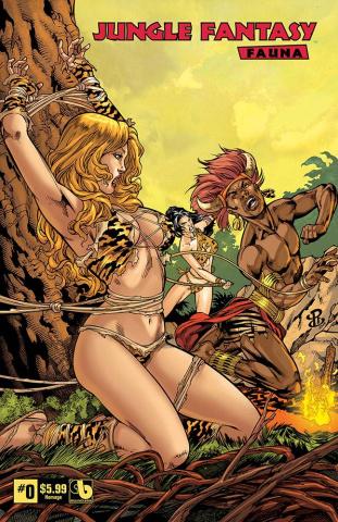 Jungle Fantasy: Fauna #0 (Homage Cover)