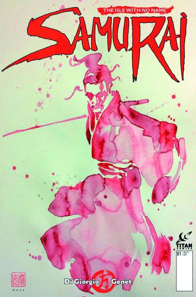 Samurai #1 (Mack Cover)
