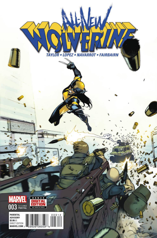 All-New Wolverine #3 (Bengal 2nd Printing)