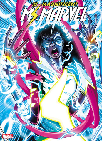 The Magnificent Ms. Marvel #8 (Vecchio 2nd Printing)