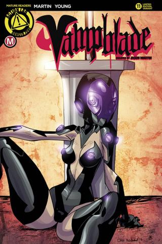 Vampblade #11 (Mendoza Cover)