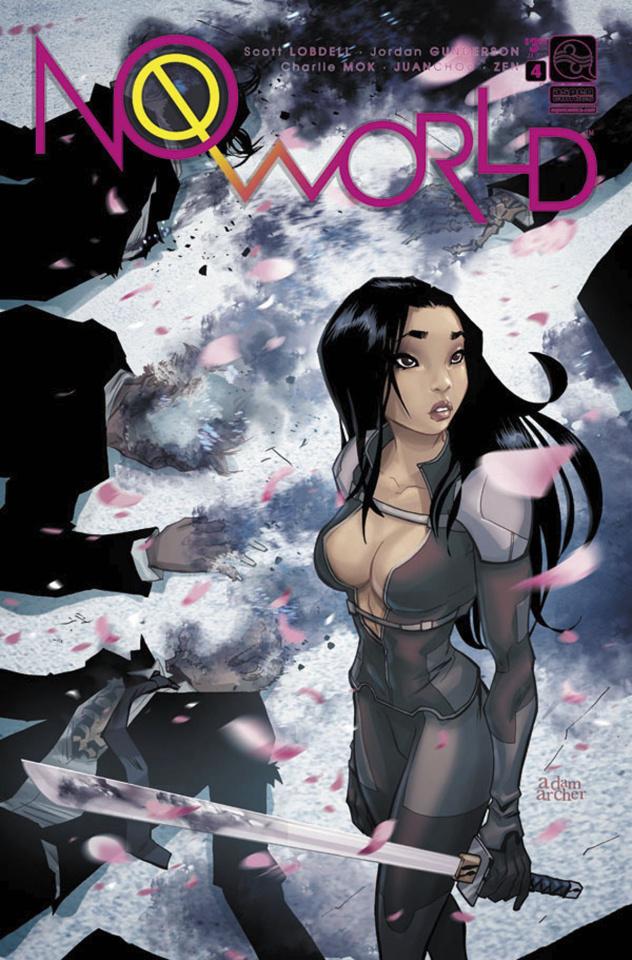 No World #4 (Archer Cover)