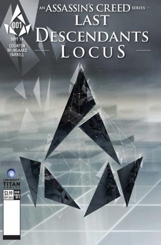 Assassin's Creed: Last Descendants - Locus #1 (Scholastic Cover)