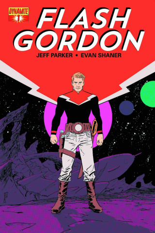 Flash Gordon #1 (Shalvey Cover)