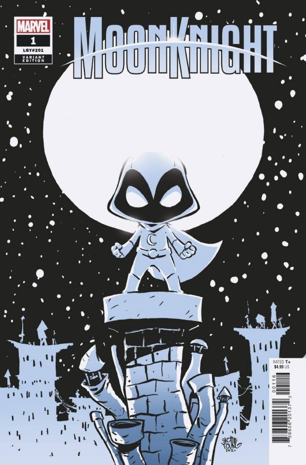 Moon Knight #1 (Young Cover)