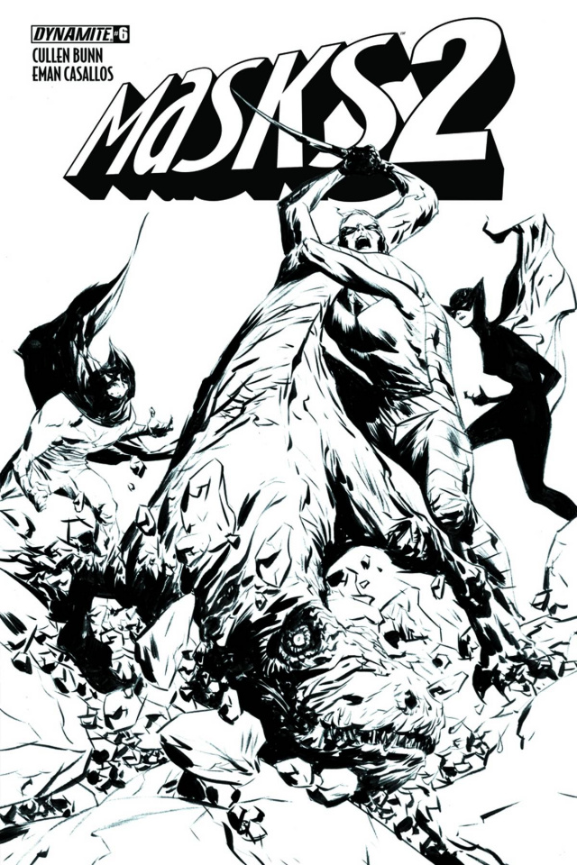 Masks 2 #6 (20 Copy Lee B&W Cover)