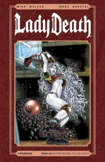 Lady Death #25 (Sexy Sport Basketball Cover)