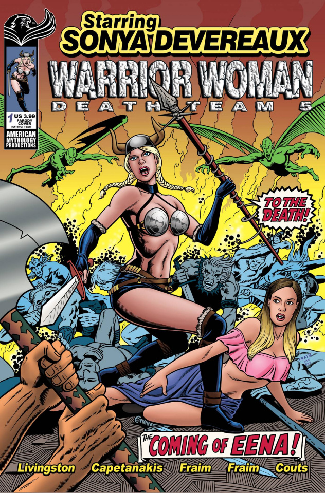 Starring Sonya Devereaux: Death Team 5 #1 (Parody Cover)