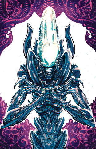 Aliens: Dust to Dust #1 (Anda Cover)
