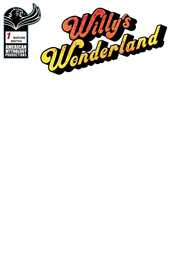 Willy's Wonderland Prequel #1 (Blank Sketch Cover)