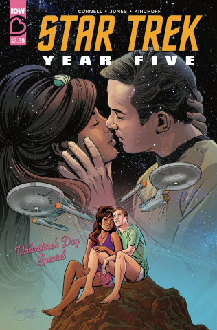 Star Trek: Year Five Valentines Day Special (Jones Cover)