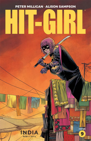 Hit-Girl, Season Two #9 (Shalvey Cover)