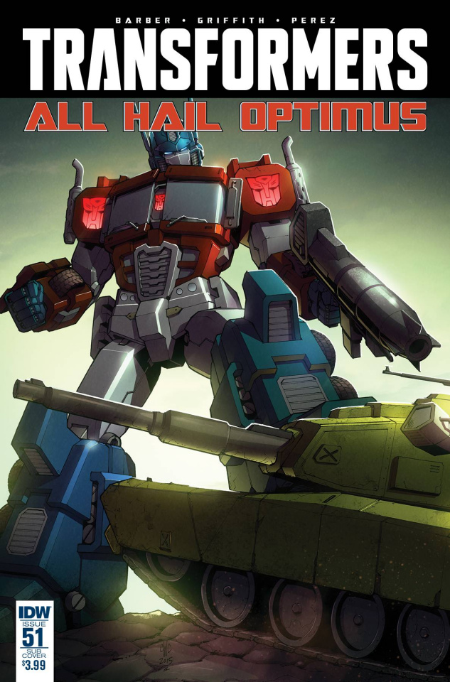 The Transformers #51 (Subscription Cover)