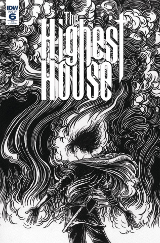 The Highest House #6 (10 Copy Shimizu Cover)