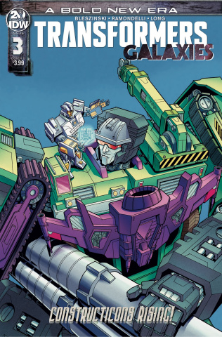 The Transformers: Galaxies #3 (Chan Cover)