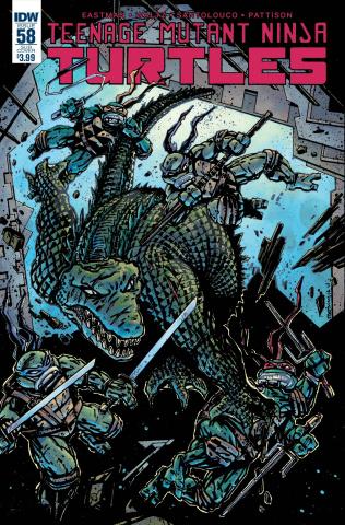 Teenage Mutant Ninja Turtles #58 (Subscription Cover)